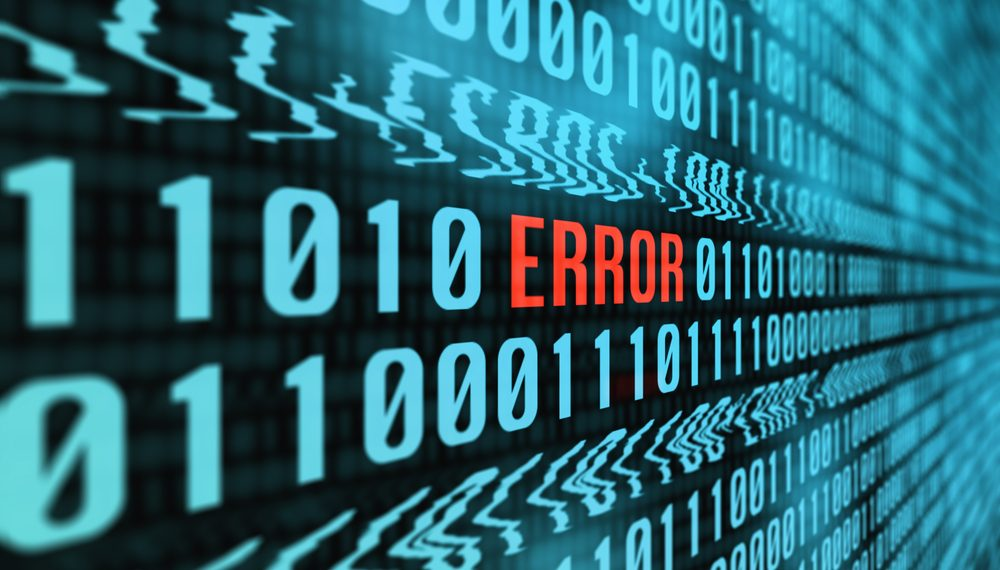 Errors in 50pc of small firm AE submissions