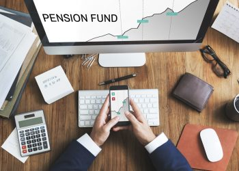 Big increase in pension funds showing surplus