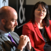 PIB's Clare Dare and Lifesearch's Alan Richardson